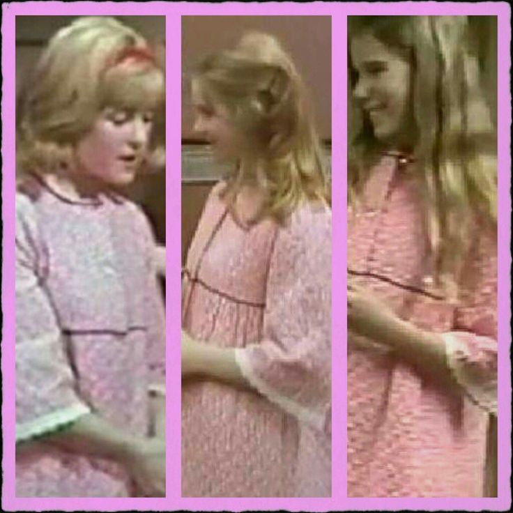 Two Pennys and a Greta (Jami Fields, Julia Duffy and Jennifer Houlton) have worn this robe.