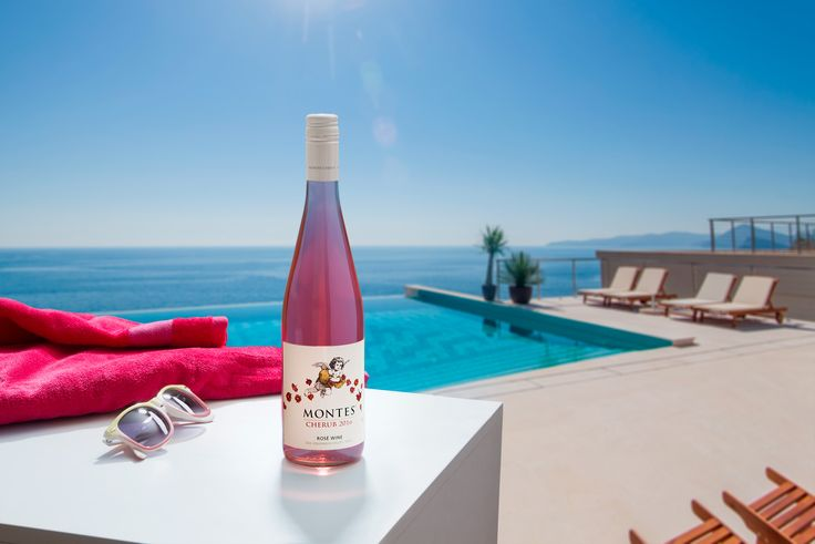 Summer Time for Montes Wines. This is Cherub Rosé!