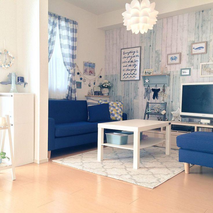 IKEA/リメイクシート/ダイソー/DIY/一人暮らし/賃貸…などのインテリア実例 - 2017-01-13 20:45:12 | RoomClip(ルームクリップ)