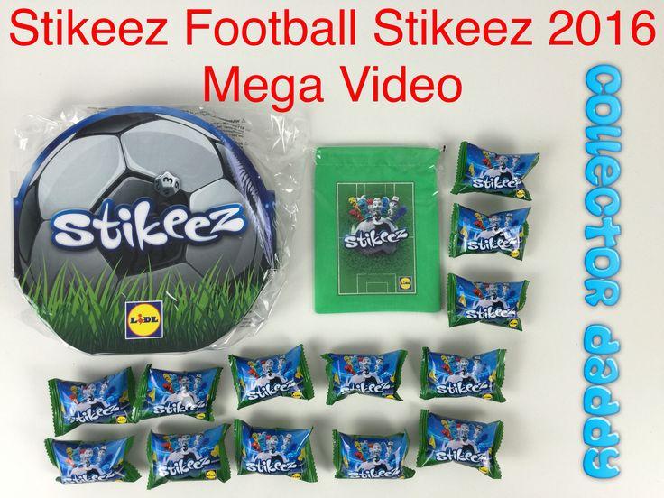 Stikeez football 2016 Stikeez mega video with collectors album, bag and Stikeez https://youtu.be/R1s9RupZ0BM