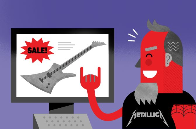 McMillan agency blog post art. #metallica   art by Michael ZEKE Zavacky