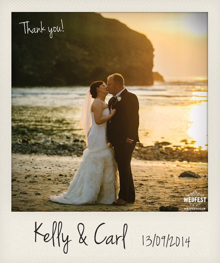 free online printable wedding thank you cards%0A beach wedding thank you card http   www wedfest co beach