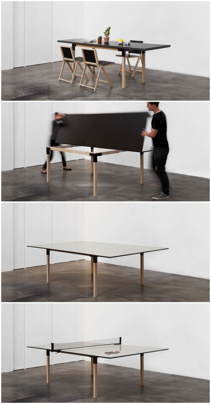 From A 8 People Dining Table To A Full Size Ping Pong Table! Brings Part 54