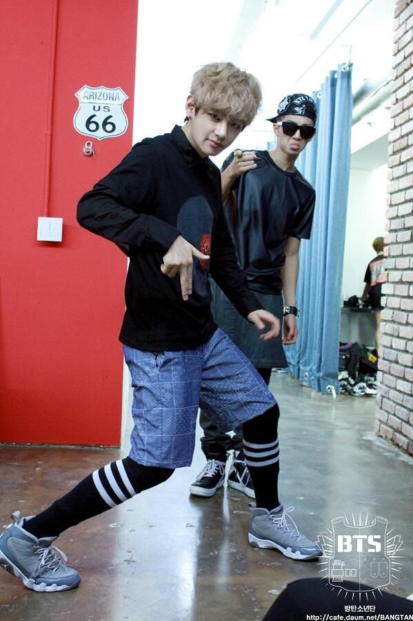 GEEK Photoshoot V and Rap Monster | BTS!!! (Bangtan Boys) | Pinterest