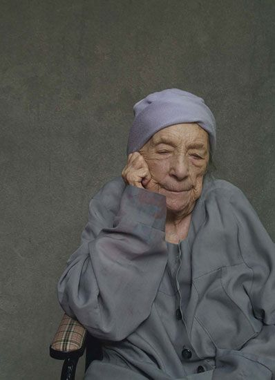 What a lady!  Louise Bourgeois
