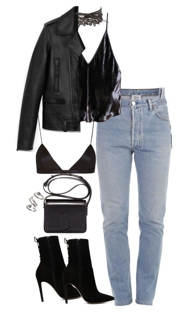 """""""Bez naslova #1144"""" by nely01 ❤ liked on Polyvore featuring Charlotte Russe, Vetements, Fleur du Mal, Yves Saint Laurent, ALDO, 3.1 Phillip Lim, NYX and Kendra Scott"""