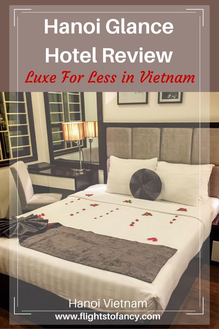 Looking for a budget hotel in Hanoi Vietnam? Look no further than my Hanoi Glance Hotel Review. This boutique hotel is centrally located in Hanoi's histroic Old Quarter and offers lots of luxury for a steal. This should be at the top of your short list when next visiting Vietnam.