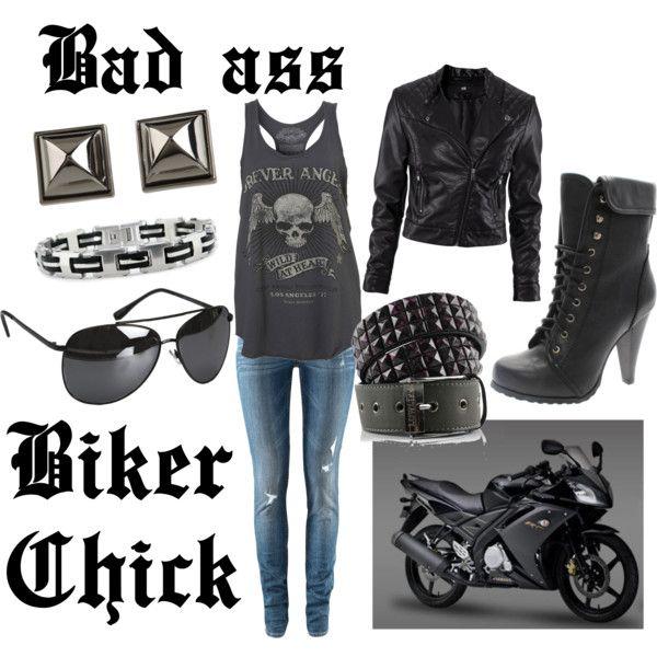 Bad ass biker chick | ~Outfit inspiration~ | Pinterest | Tøj