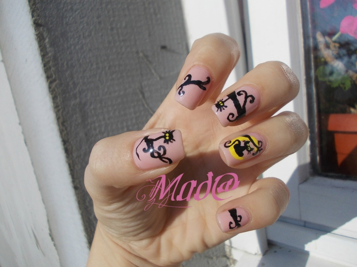 Nail Art: My Halloween model ~ Life, passion and beauty