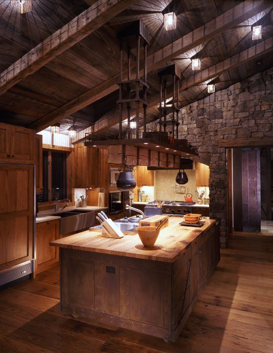 179 best Rustic Chic images on Pinterest | Rustic chic, Rustic and Reclaimed Rustic Beam Kitchen Ideas on kitchen white beams, kitchen granite, kitchen natural beams, kitchen tv, kitchen ceiling lights, kitchen ceiling planks, kitchen renovations, kitchen bay windows, kitchen ceiling beams, kitchen stone, kitchen arches, kitchen brick walls,