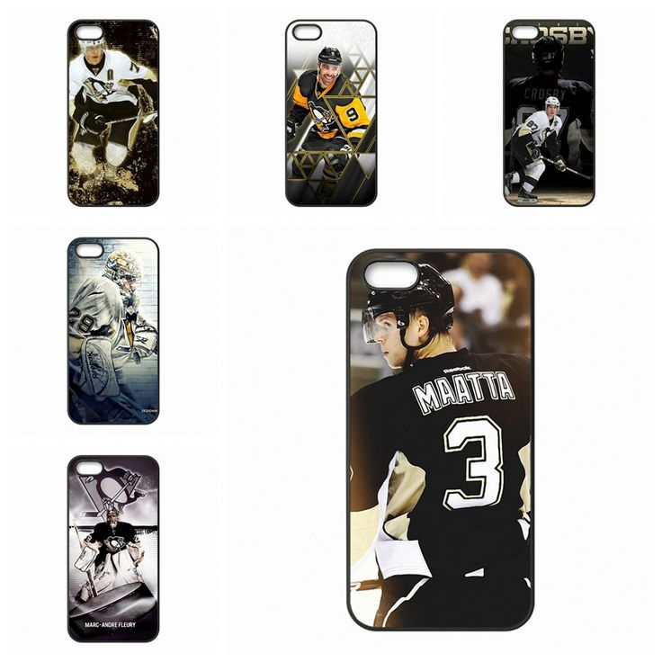 Coque Case Capa case Pittsburgh Penguins NHL Team Player For Apple iPhone 4 4S 5 5C SE 6 6S Plus 4.7 5.5 iPod Touch 4 5 6