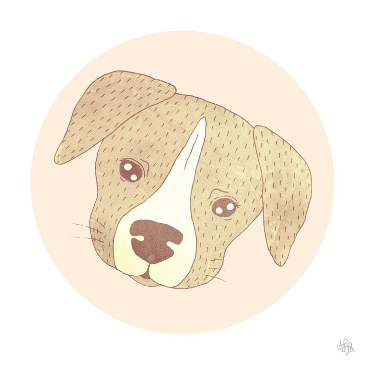 #Puppy #Illustration by #HereLivesAmanda