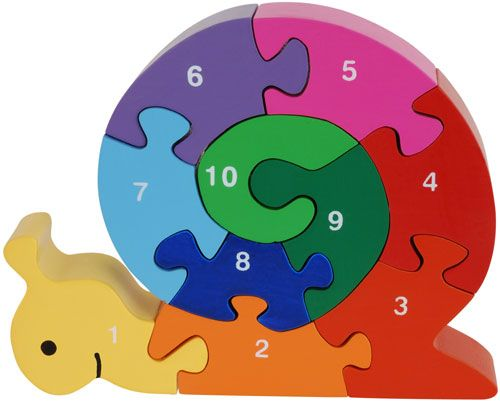snail number counting 3d puzzle Learning Early Is Always Best, So Pick Up An Educational Toy For Your Kid