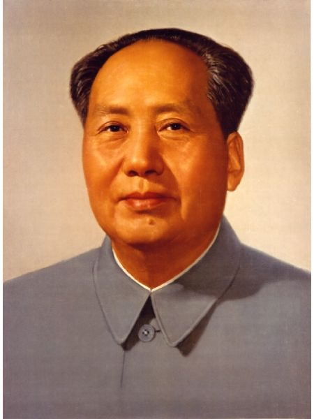Chairman Mao (required to be on display in every chinese home)