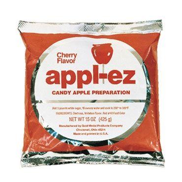 Gold Medal 4144, (15) 15-Oz. Bags Apple-Ez Cherry Candy Apple Mix