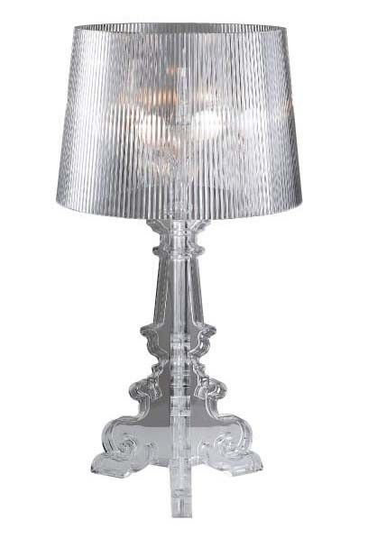 Table Lamp Clear PC Replica Ferruccio Laviani Boargie Ghost Three E14