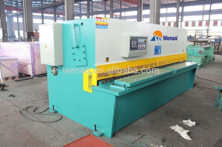 QC12Y Hydraulic swing beam shearing machine/sheet metal shearing machine/metal cutter