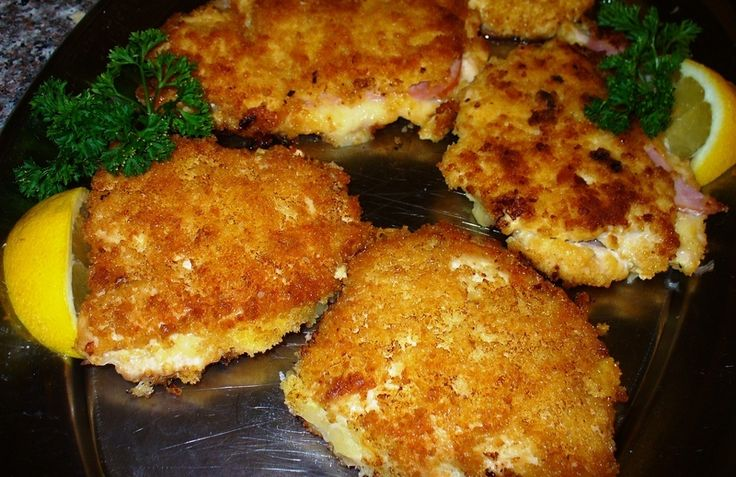I fell in love with veal cordon bleu prepared schnitzel style in restaurants while living in Germany in the late 60's. But stateside, veal was hard to come by when I first began to replicate the recipe, so I subbed chicken breast. I have come fairly close to the 'authentic' versions my memories provide of this delicious main dish. I suppose schnitzel style offers more surface area for the yummy coating than does the traditional roulade or rolled style Cordon Bleu. Over time I have tried many…