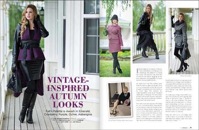 Bright Red Creative, Halifax, NS   Art Direction & Graphic Design for Fine Lifestyles Magazine