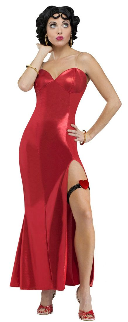 Betty Boop Adult Costume - Betty Boop Costumes