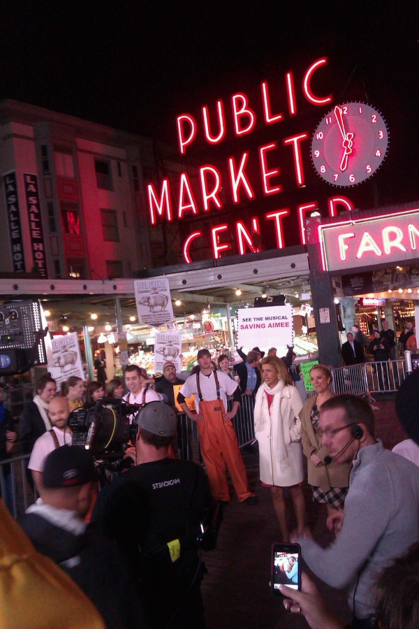 The Today Show visited in October 2011!October 2011, 1St Starbucks, Super Fun Hom, Downtown Happen