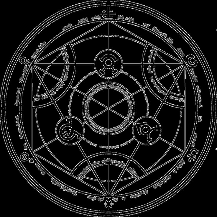 Fullmetal Alchemist Brotherhood Reverse Transmutation Circle