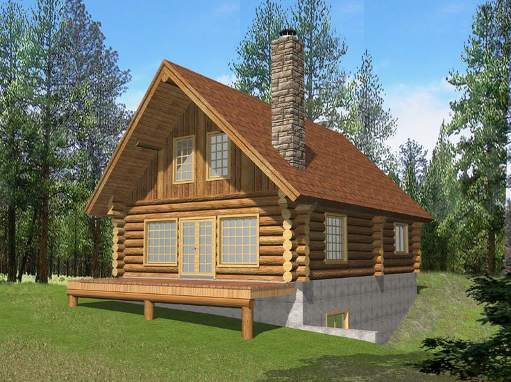 Captivating Cabin Home Plans With Loft | ... Log Home Style Log Cabin Home Log Part 25