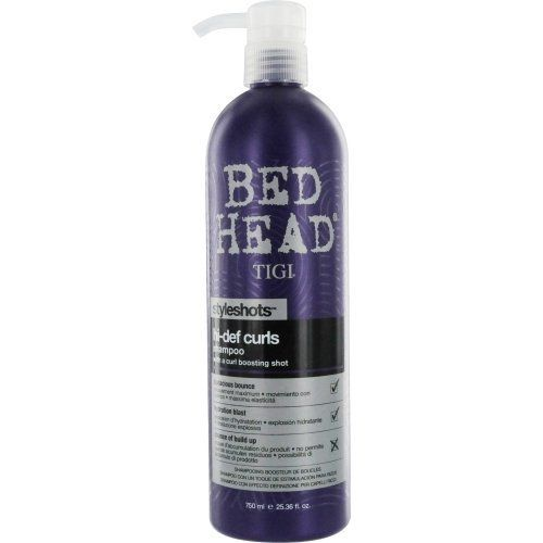Tigi Bed Head Styleshots Hi-def Curls Shampoo, 25.36 Ounce by TIGI. Save 31 Off!. $19.90. Succumb to your curls' desire!. Get yoru style in check with this moisturizing and defining shampoo. Infused with a shot of curl boosters, this sulfate-free shampoo makes your hair softer, calmer and easier to manage.