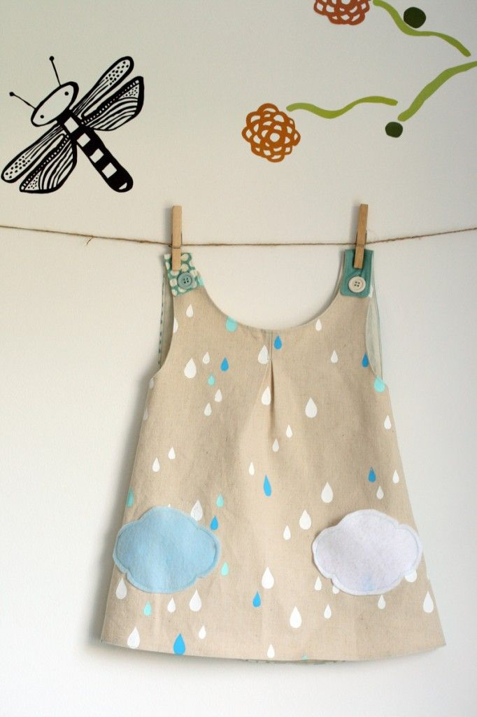 The Crafty Kitty | Roly Poly Pinafore