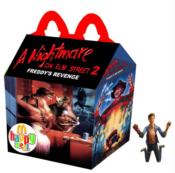 """A Nightmare on Elm Street 2: Freddy's Revenge"" Happy Meal"