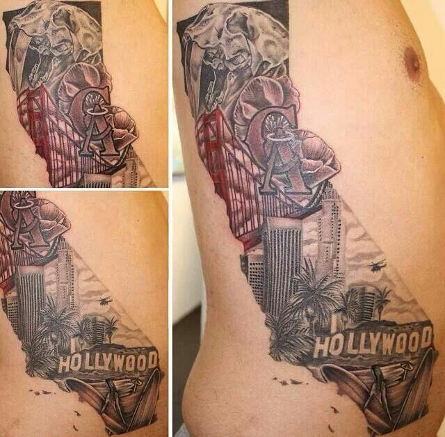 95 Best California Tattoos Images On Pinterest