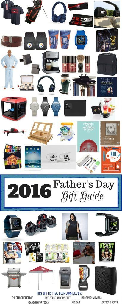 I married the greatest husband in the world who also happens to be one of the best father's in the world. He'll be getting a gift from this guide! Check out this guide some of my friends and I put together. http://www.thecrunchymommy.com/fathers-day-gift-guide/