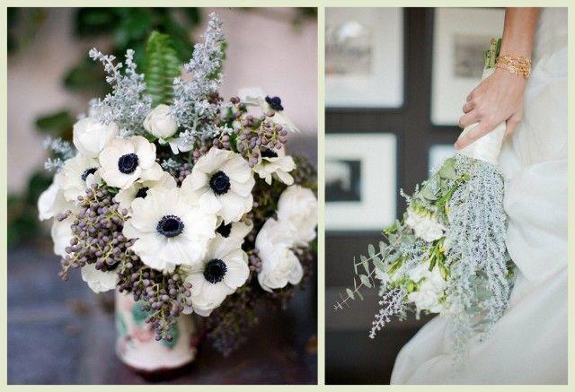 Зимние свадебные букеты - I LOVE WEDDINGS