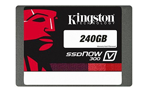 From 55.00:Kingston Technology 240 GB Solid State Drive 2.5 inch V300 SATA 3