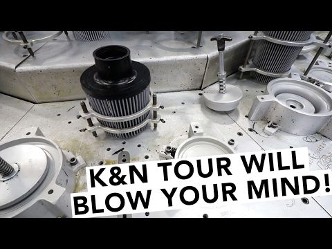 How Performance Air Filters are Made: K&N Filters Factory Tour