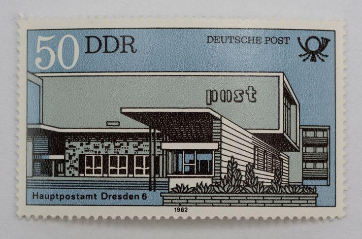 """DDR Museum - Museum: Objektdatenbank - """"Briefmarkenserie Deutsche Post"""" Copyright: DDR Museum, Berlin. Eine kommerzielle Nutzung des Bildes ist nicht erlaubt, but feel free to repin it!"""