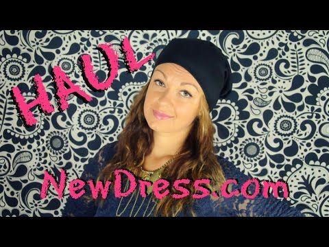 NEWDRESS.COM http://bit.ly/1N1Qtmh NewDress Pinterest: https://www.pinterest.com/newdressFS Hip-hop Beanie Hat: http://bit.ly/1KiBjZG Leaf Purl Vintage Necklace: http://bit.ly/1NNdMj0 Beads&Coin Bracelet: http://bit.ly/1VksErr Silver Blue Colorful Sunglasses:  http://bit.ly/1EqLMjq Black Braided Rope Bracelet:  http://bit.ly/1VksWOX White Transparent Dial Wrist Watch:  http://bit.ly/1PYH0uw Waterproof Matte Lipstick:  http://bit.ly/1Eos73d Punk Bronze Triangle Earrings: http://bit.ly/1LIhgnu