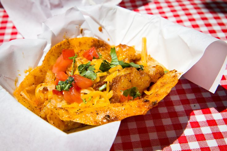 Soul food meets corn tortillas and Tex-Mex ingredients at Sky's Gourmet Tacos in Los Angeles.