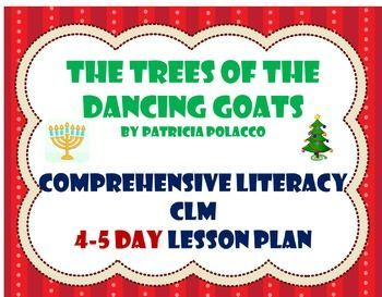 A week of lesson plans for the wonderful Patricia Polacco book The Trees of the Dancing Goats.  This a wonderful multi-cultural book, and the plans were written with supports for ELL students.
