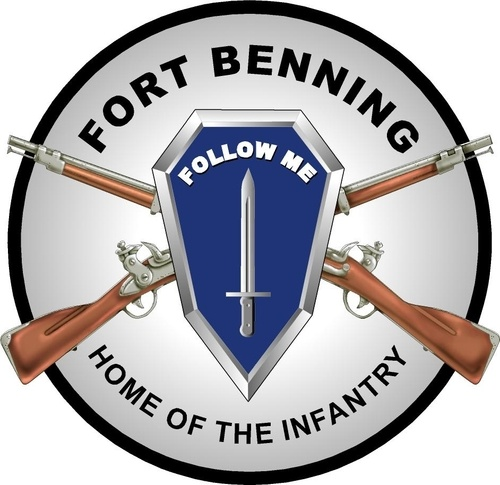 Spent time in Fort Benning with Pete.
