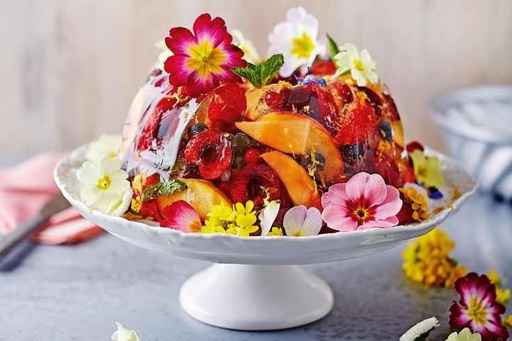 This retro remake is the perfect end to a big summer feast. It's jam-packed full of sweet, summer fruits and laced with crisp prosecco.