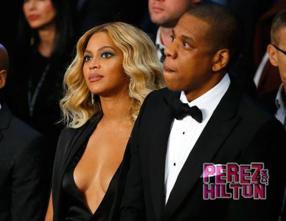 Whoa — Beyoncé Stole The Show At The Cotto-Canelo Boxing Match In Las Vegas Saturday Night!