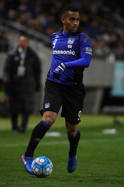 Ademilson of Gamba Osaka in action during the AFC Champions League Group H match between Gamba Osaka and Jiangsu FC at Suita City Football Stadium on March 15, 2017 in Suita, Japan.