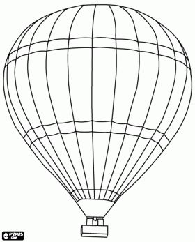 Hot Air Balloons Coloring Pages Coloring Pages Of Hot Air