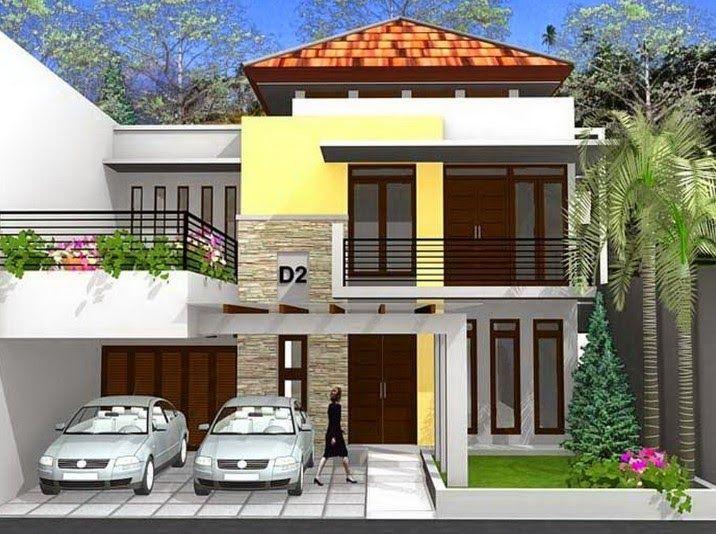 27 Desain Rumah Minimalis Modern 2 Lantai Terbaru 2020 Model Rumah Minimalis Garasi Dibawah Desain Rumah Modern 6 Di 2020 Desain Rumah Home Fashion Rumah Minimalis
