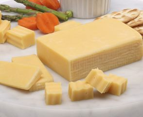 """Known for its delicate flavor, """"butter cheese"""" is mild and creamy with a buttery taste giving it a melt-in-your-mouth flavor. This cheese is a perfect choice to start a flight of cheese, pairs well with smoky sliced meats like Boar's Head Tavern Ham and melts beautifully to complement vegetables in a savory sauce."""