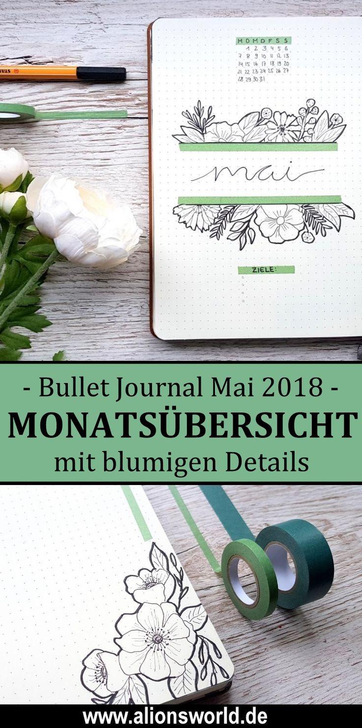 Bullet Journal – Mai 2018 – Frühlingsgefühle