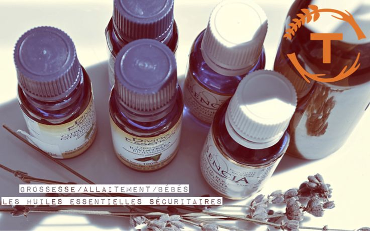 Caroline vous parle des huiles essentielles compatibles lors de la grossesse, de l'allaitement et avec les bébés et les enfants.