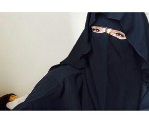 Wavy Niqab style