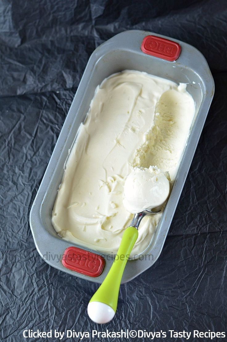 easy vanilla ice cream recipe, homemade vanilla ice cream without ice cream maker